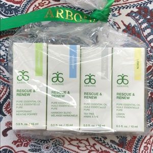 All 4 Arbonne essential oils